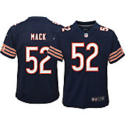 Nike Youth Chicago Bears Khalil Mack #52 Navy Game Jersey