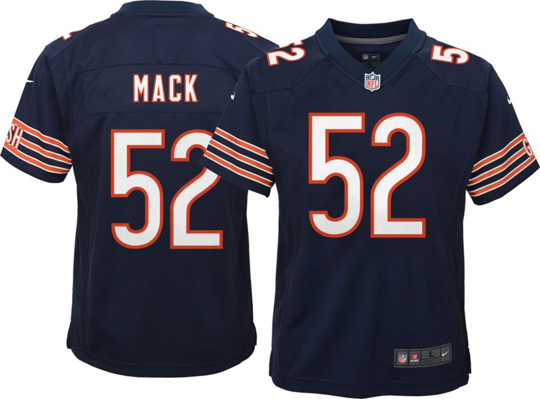 buy popular 3cffb 14189 Nike Youth Home Game Jersey Chicago Bears Khalil Mack #52