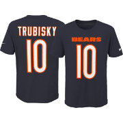 Nike Youth Chicago Bears Mitchell Trubisky #10 Pride Navy T-Shirt