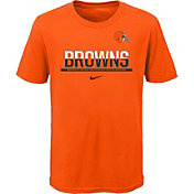 Nike Youth Cleveland Browns Team Practice Orange T-Shirt
