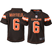 Nike Boys' Home Game Jersey Cleveland Browns Baker Mayfield #6