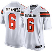 Nike Youth Away Game Jersey Cleveland Browns Baker Mayfield #6