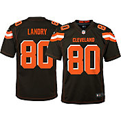 Nike Youth Home Game Jersey Cleveland Browns Jarvis Landry #80