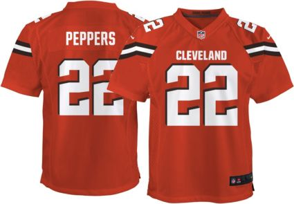 Nike Youth Alternate Game Jersey Cleveland Browns Jabrill Peppers ... 3343f1d95
