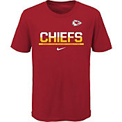 Nike Youth Kansas City Chiefs Team Practice Red T-Shirt