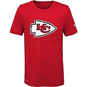 Nike Youth Kansas City Chiefs Essential Logo Performance Red T-Shirt