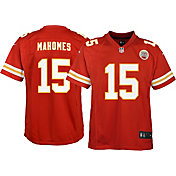 Nike Youth Home Game Jersey Kansas City Chiefs Patrick Mahomes #15