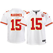 Nike Youth Away Game Jersey Kansas City Chiefs Patrick Mahomes #15