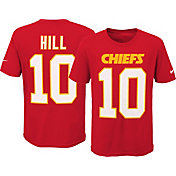 Nike Youth Kansas City Chiefs Tyreek Hill #10 Pride Red T-Shirt