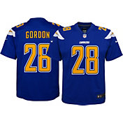 Nike Youth Color Rush Game Jersey Los Angeles Chargers Melvin Gordon #28