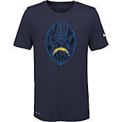Nike Youth Los Angeles Chargers Icon Performance Navy T-Shirt
