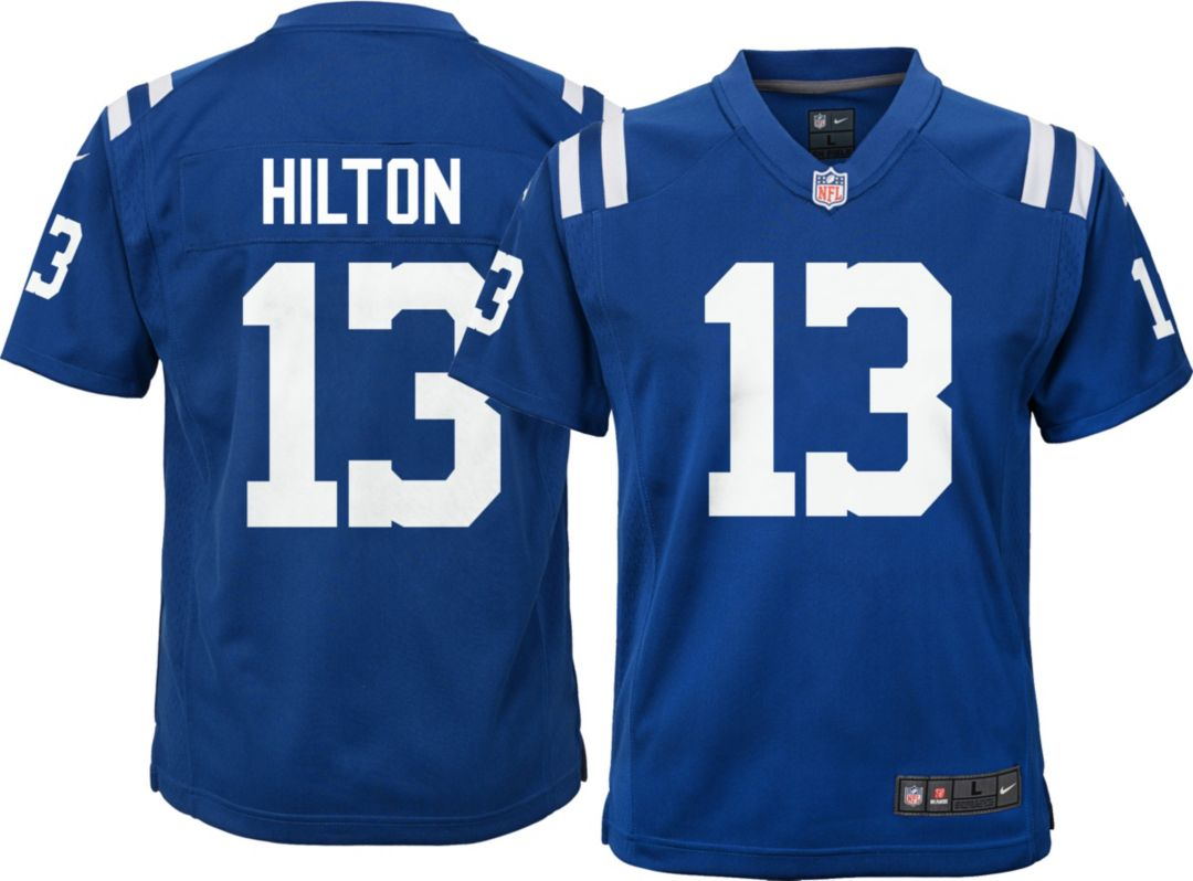 new concept cd4cf fa167 Nike Youth Color Rush Game Jersey Indianapolis Colts T.Y. Hilton #13