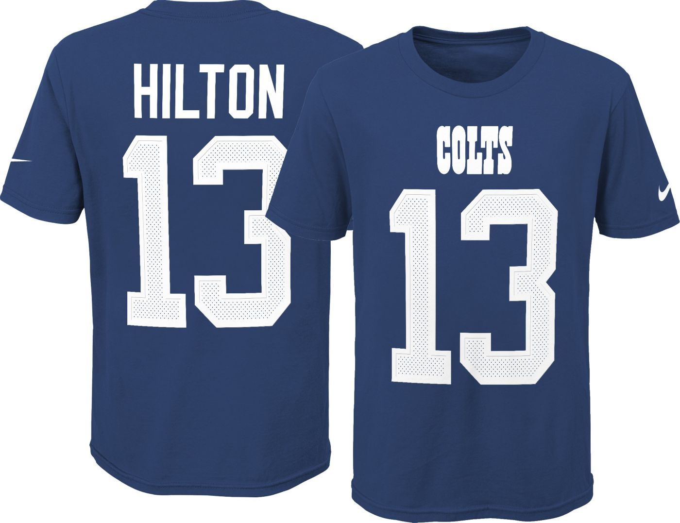 Nike Youth Indianapolis Colts T.Y. Hilton #13 Pride Blue T-Shirt