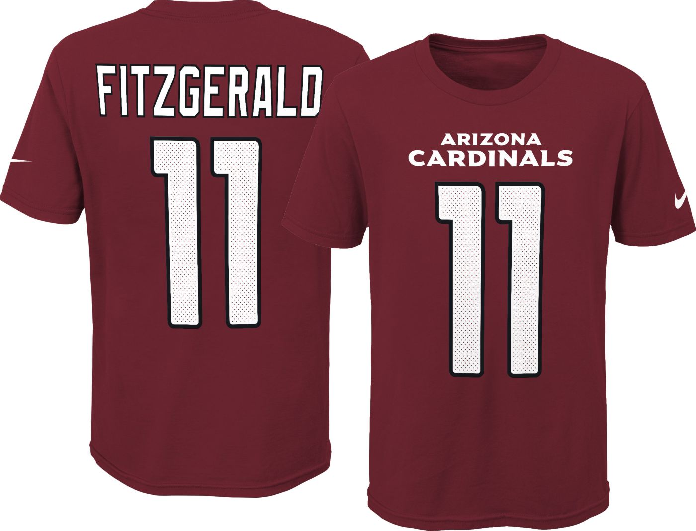 Nike Youth Arizona Cardinals Larry Fitzgerald #11 Pride Red T-Shirt