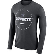 Nike Youth Dallas Cowboys Property Of Long Sleeve Grey Shirt