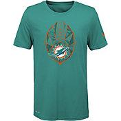 Nike Youth Miami Dolphins Icon Performance Aqua T-Shirt