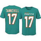 Nike Youth Miami Dolphins Ryan Tannehill #17 Pride Aqua T-Shirt
