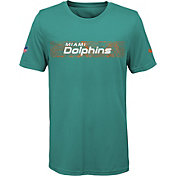 Nike Youth Miami Dolphins Sideline Seismic Legend Performance Aqua T-Shirt