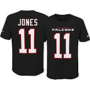 Nike Youth Atlanta Falcons Julio Jones #11 Pride Black T-Shirt