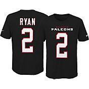 Nike Youth Atlanta Falcons Matt Ryan #2 Pride Black T-Shirt