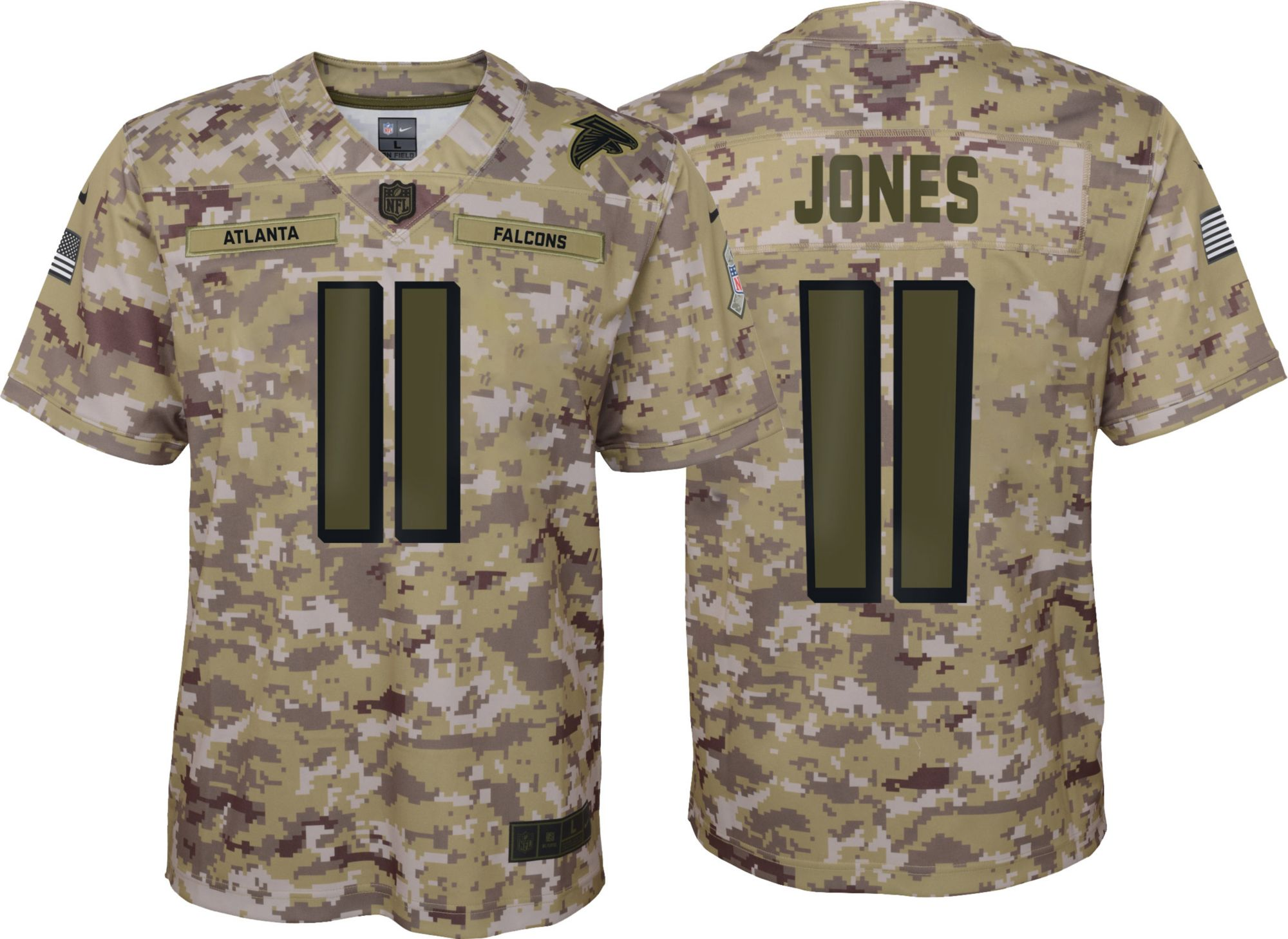Discount Nike Youth Salute to Service Atlanta Falcons Julio Jones #11