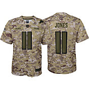 Nike Men's Salute to Service Atlanta Falcons Julio Jones #11 Camouflage Home Game Jersey