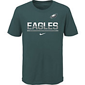 Nike Youth Philadelphia Eagles Team Practice Green T-Shirt