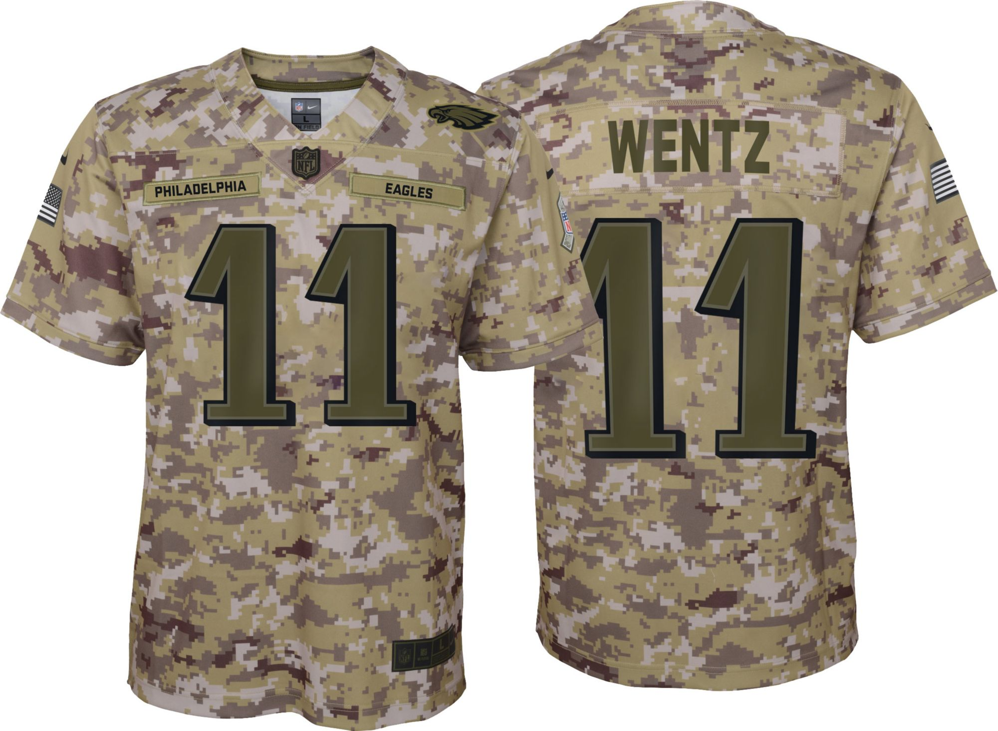 brand new 2f0b2 7df7b Nike Youth Salute to Service Philadelphia Eagles Carson ...