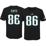 Nike Youth Philadelphia Eagles Zach Ertz  86 Pride Black T-Shirt ... e66179ea1