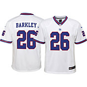 Nike Youth Color Rush Game Jersey New York Giants Saquon Barkley #26