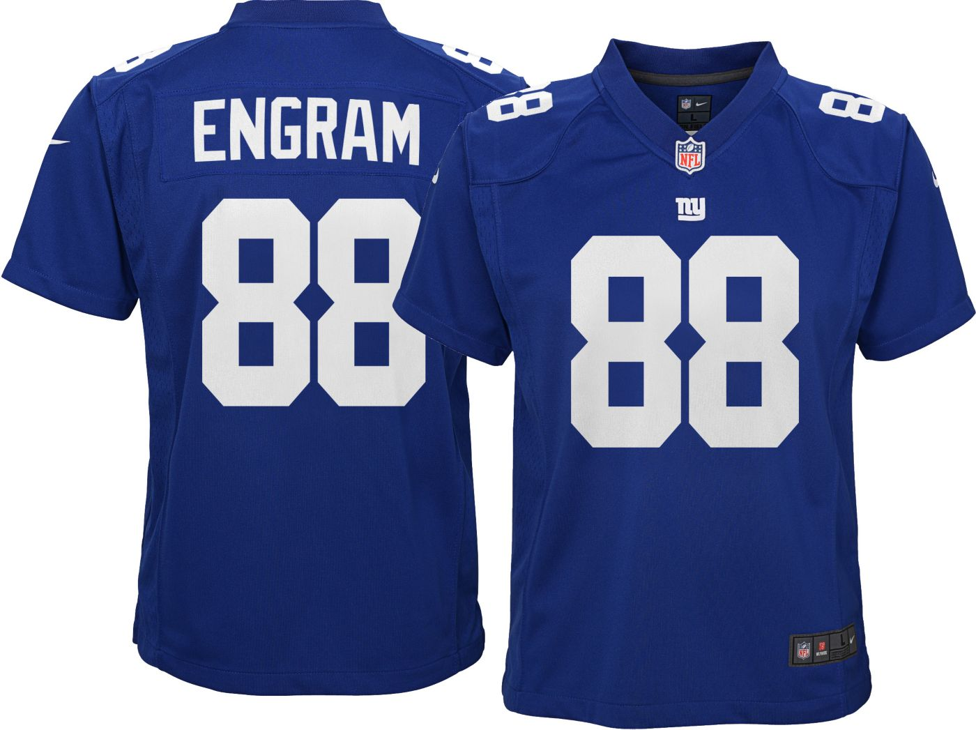 Nike Youth Home Game Jersey New York Giants Evan Engram #88