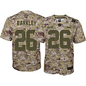 Nike Men's Salute to Service New York Giants Saquon Barkley #26 Camouflage Home Game Jersey
