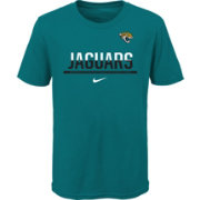 Nike Youth Jacksonville Jaguars Team Practice Teal T-Shirt