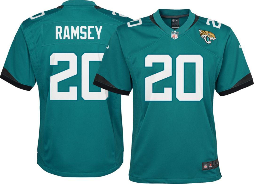 quality design 128cc 5e7fc Nike Youth Alternate Game Jersey Jacksonville Jaguars Jalen Ramsey #20