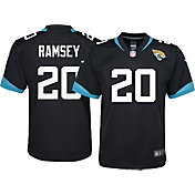 Nike Youth Jacksonville Jaguars Jalen Ramsey #20 Black Game Jersey