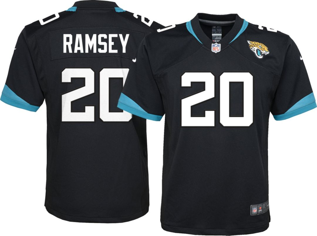 online store 3469c 06df7 Nike Youth Home Game Jersey Jacksonville Jaguars Jalen Ramsey #20