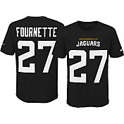 Nike Youth Jacksonville Jaguars Leonard Fournette #27 Pride Black Player T-Shirt