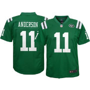 Nike Youth Color Rush Game Jersey New York Jets Robby Anderson #11
