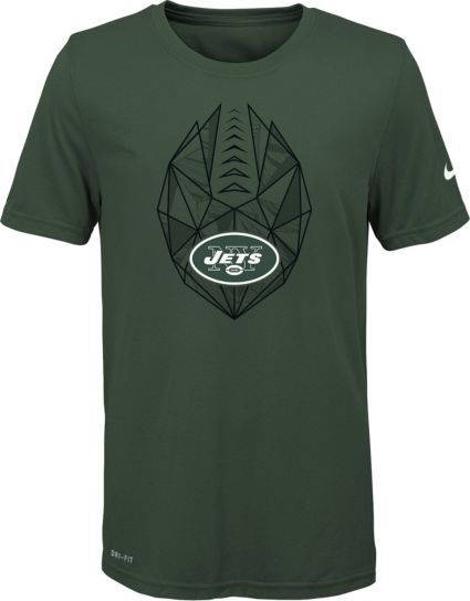 7c80eb4e5 Nike Youth New York Jets Icon Performance Green T-Shirt