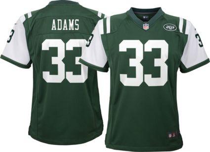 Nike Youth Home Game Jersey New York Jets Jamal Adams  33. noImageFound 0f97425a0