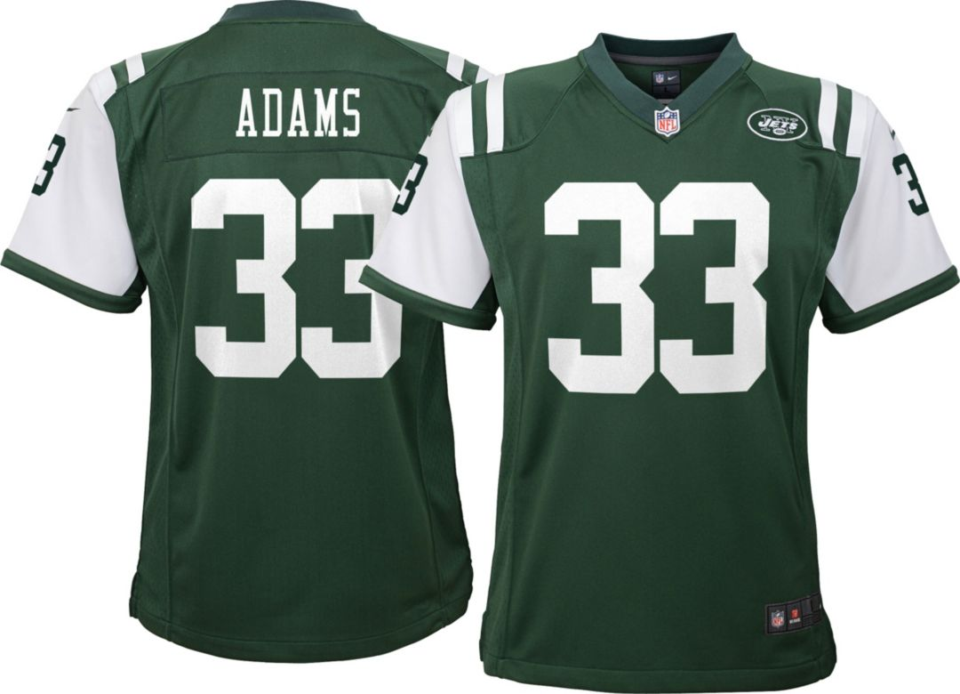 timeless design 1c705 aa1b6 Nike Youth Home Game Jersey New York Jets Jamal Adams #33