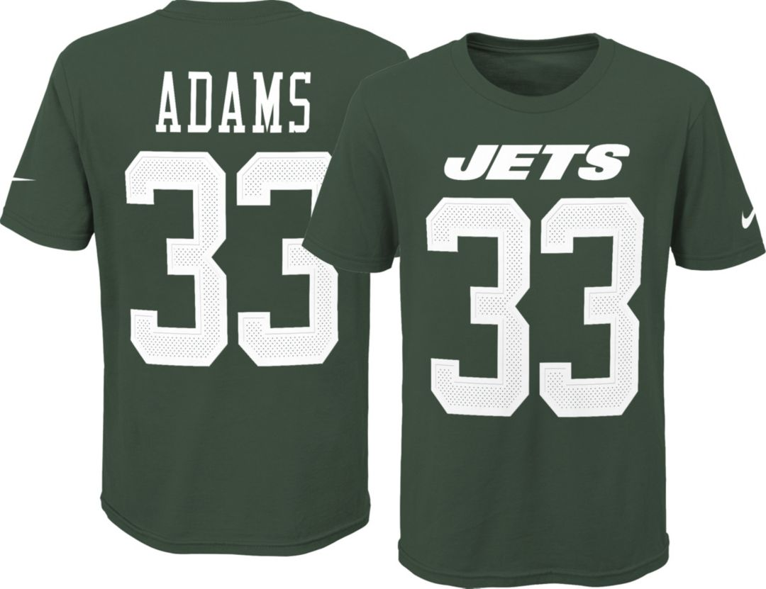 best service 42208 3f780 Nike Youth New York Jets Jamal Adams #33 Pride Green Player T-Shirt