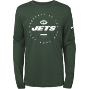 Nike Youth New York Jets Property Of Long Sleeve Green Shirt