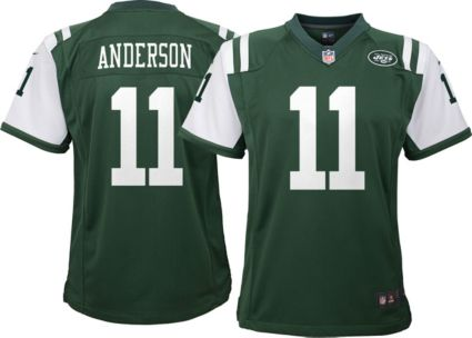 Nike Youth Home Game Jersey New York Jets Robby Anderson  11 ... f9853813e