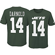 Nike Youth New York Jets Sam Darnold #14 Pride Green T-Shirt
