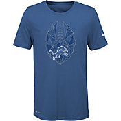 Nike Youth Detroit Lions Icon Performance Blue T-Shirt