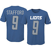 Nike Youth Detroit Lions Matt Stafford #9 Pride Blue T-Shirt