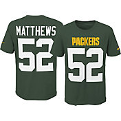 Nike Youth Green Bay Packers Clay Matthews #52 Pride Green Player T-Shirt