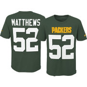 Nike Youth Green Bay Packers Clay Matthews #52 Pride Green Player T