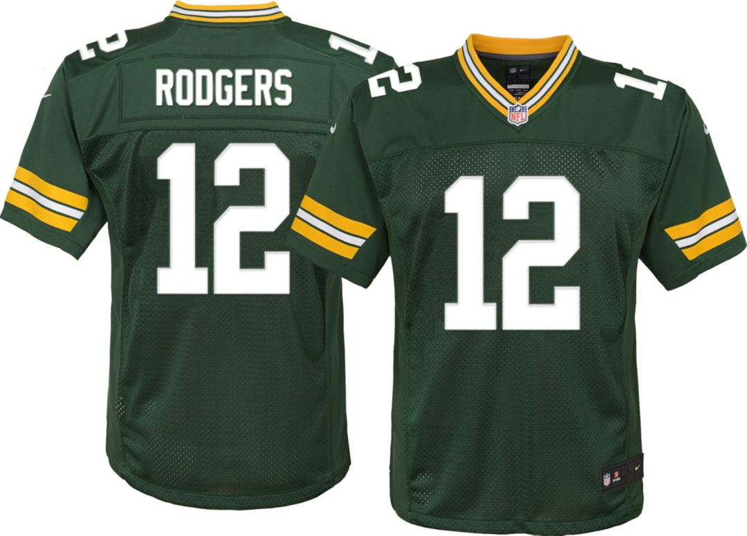 best loved 16ee8 42979 Nike Youth Home Limited Jersey Green Bay Packers Aaron Rodgers #12